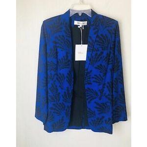 NWT DVF Diane Von Furstenberg Seiel Vintage Jacket